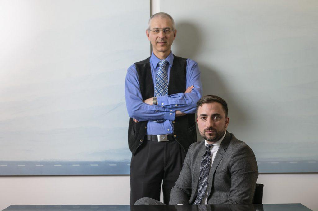André Kuhn et Guglielmo Palumbo
